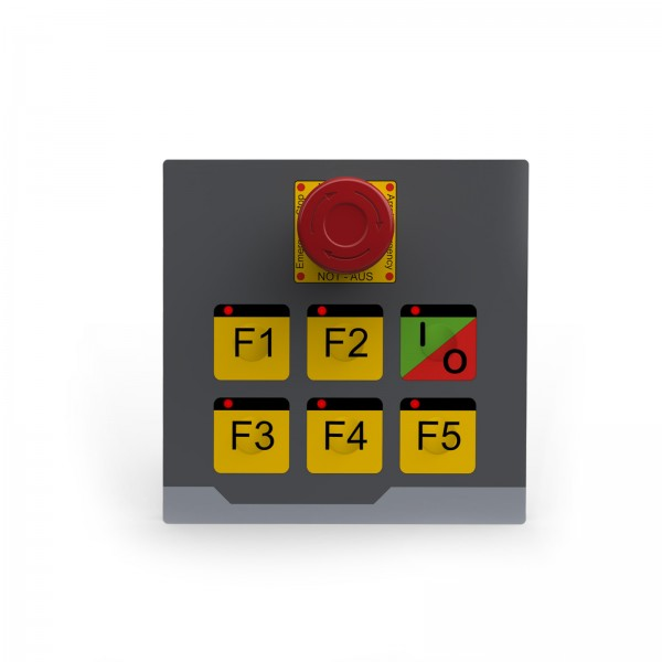 Keypad Module 6 Keys with emergency stop
